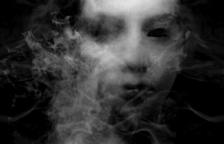 I'll see you in hell . Art Darkart ArtWork EyeEm Best Edits Fantasy Minimalism Selfie Portrait Light And Shadow Artis