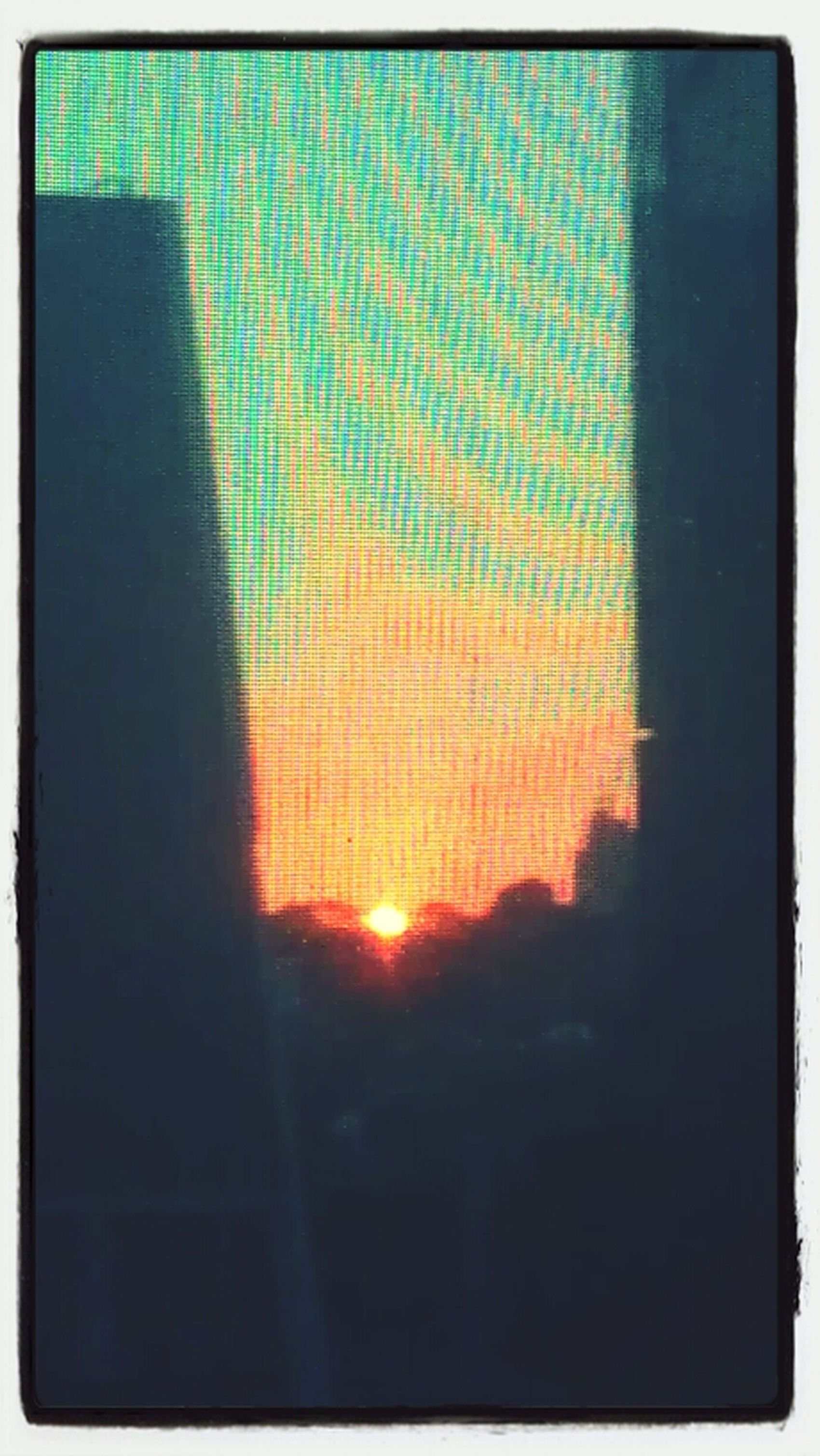 Sunset From My Office