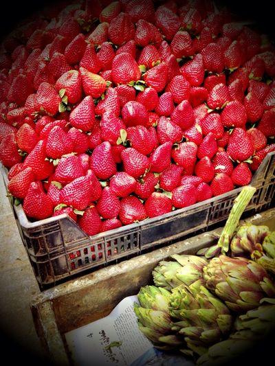 Market Red Strawberry Souks