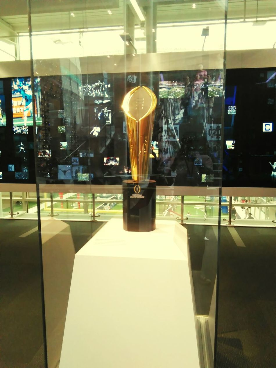 College Hall Of Fame Georgia Trophy Collegefootball