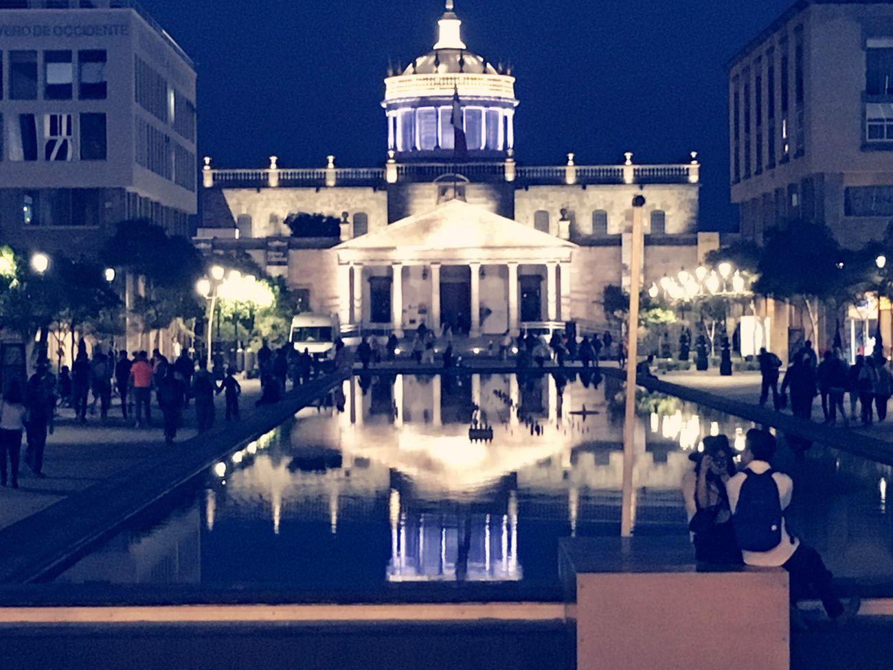 Building Exterior Architecture City Night Travel Destinations People Reflection Disfrutando De La Vida
