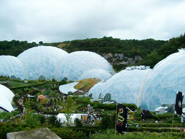 Agriculture No People Cloud - Sky Landscape Outdoors Day Rural Scene Nature Cold Temperature Scenics Food Water Irrigation Equipment Beauty In Nature Freshness Sky Close-up Greenhouse Plants Eden Eden Project