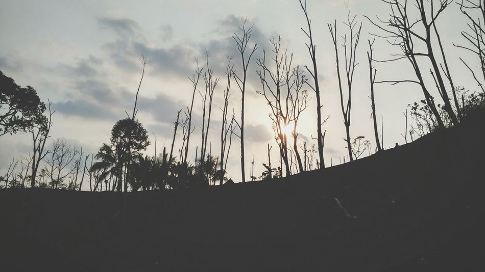 The moment I love the most. It's when the sun goes down. Baduy