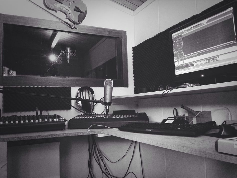 Working at our own songs in our studio. Recording Studio Making Music Nuttree Studio Singersongwriters
