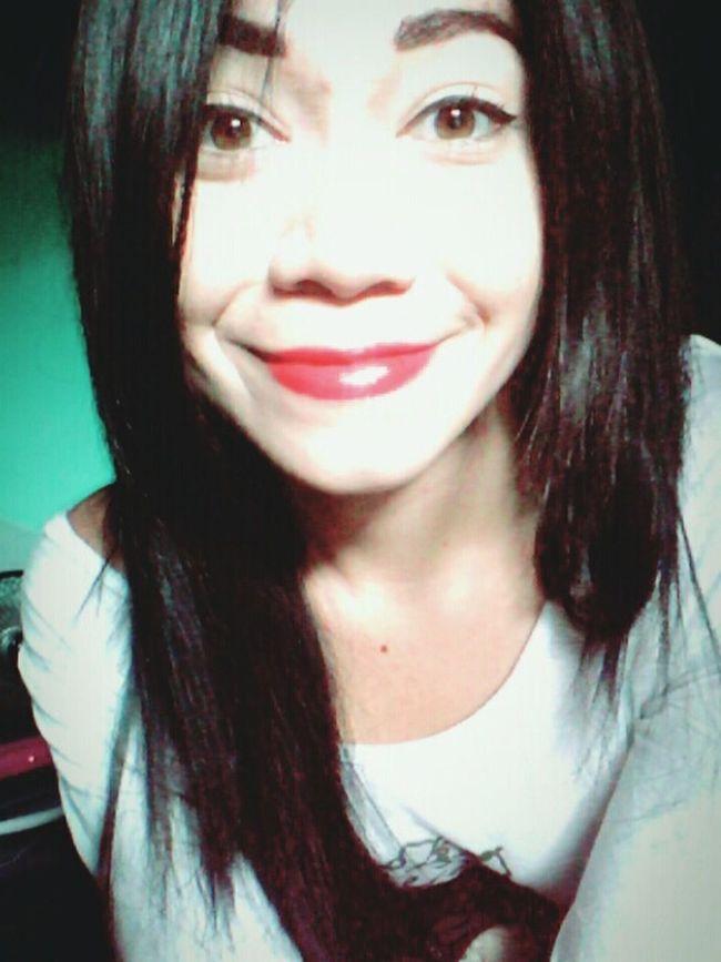 Selfie ♥ Big Smile Falling In Love That's Me I Love It ❤ I Love U Chris Soy De Mi Chulo!❤ Enormemente Feli! Catita Chula Chris&cleli