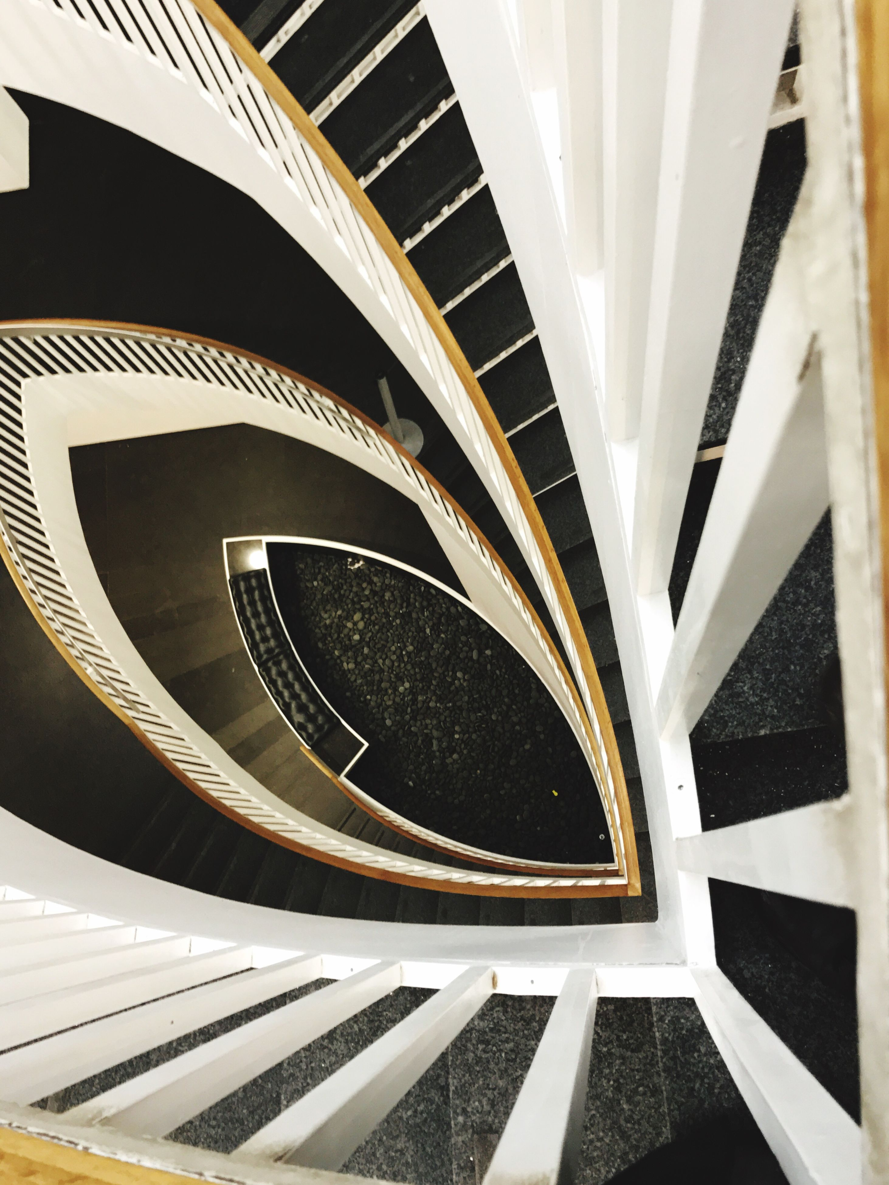 spiral, pattern, no people, steps and staircases, close-up, staircase, spiral staircase, built structure, indoors, architecture, day