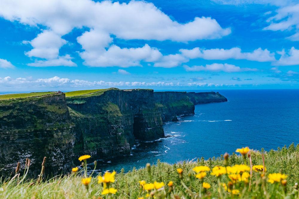 Cliffs of Moher Cliffs Cliffs Of Moher  Cliffside Cliffsofmoher Ireland Ireland🍀 Irish Ocean Tourists