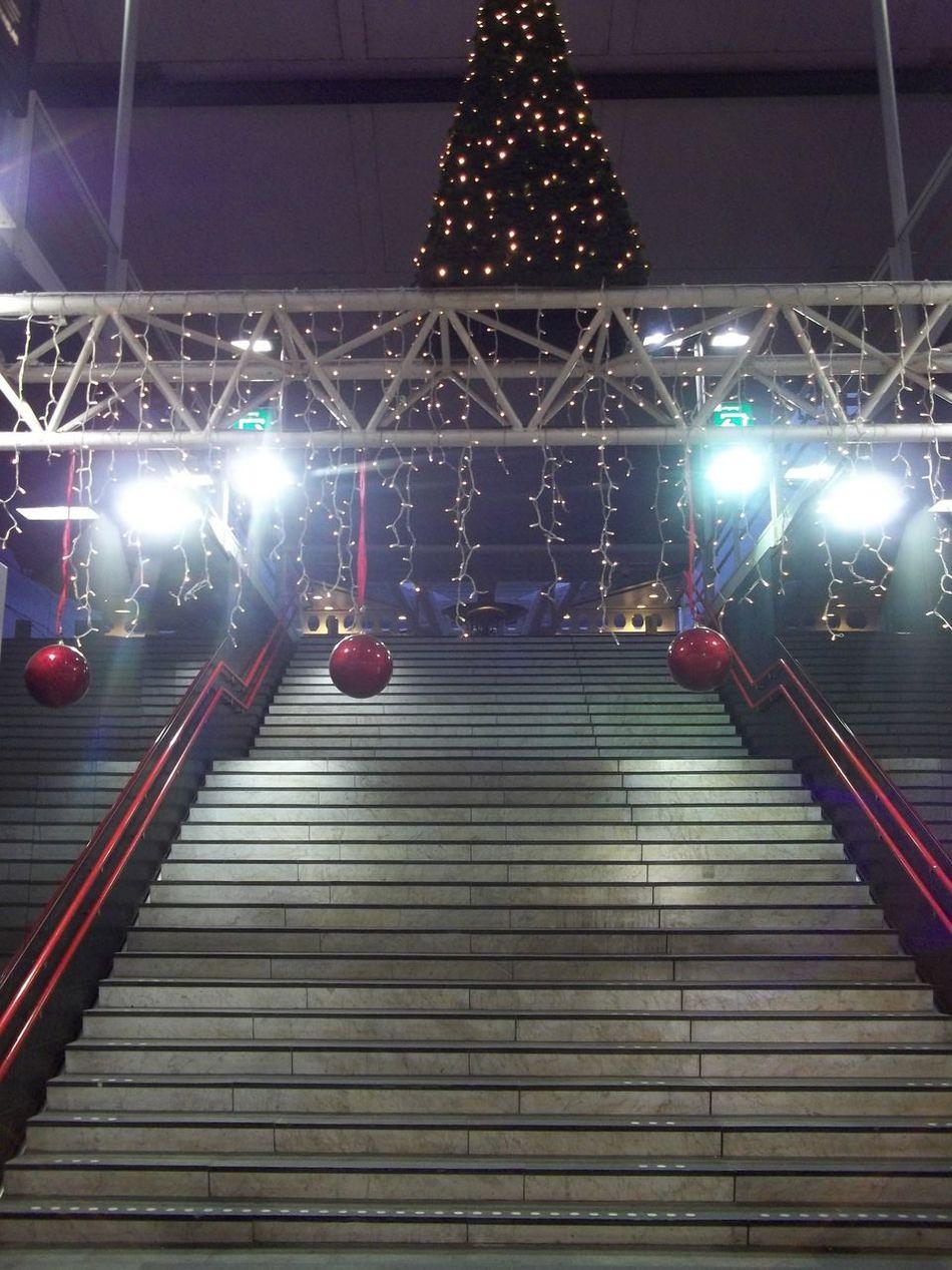 Christmas Nightphotography Taking Photos Urban Geometry
