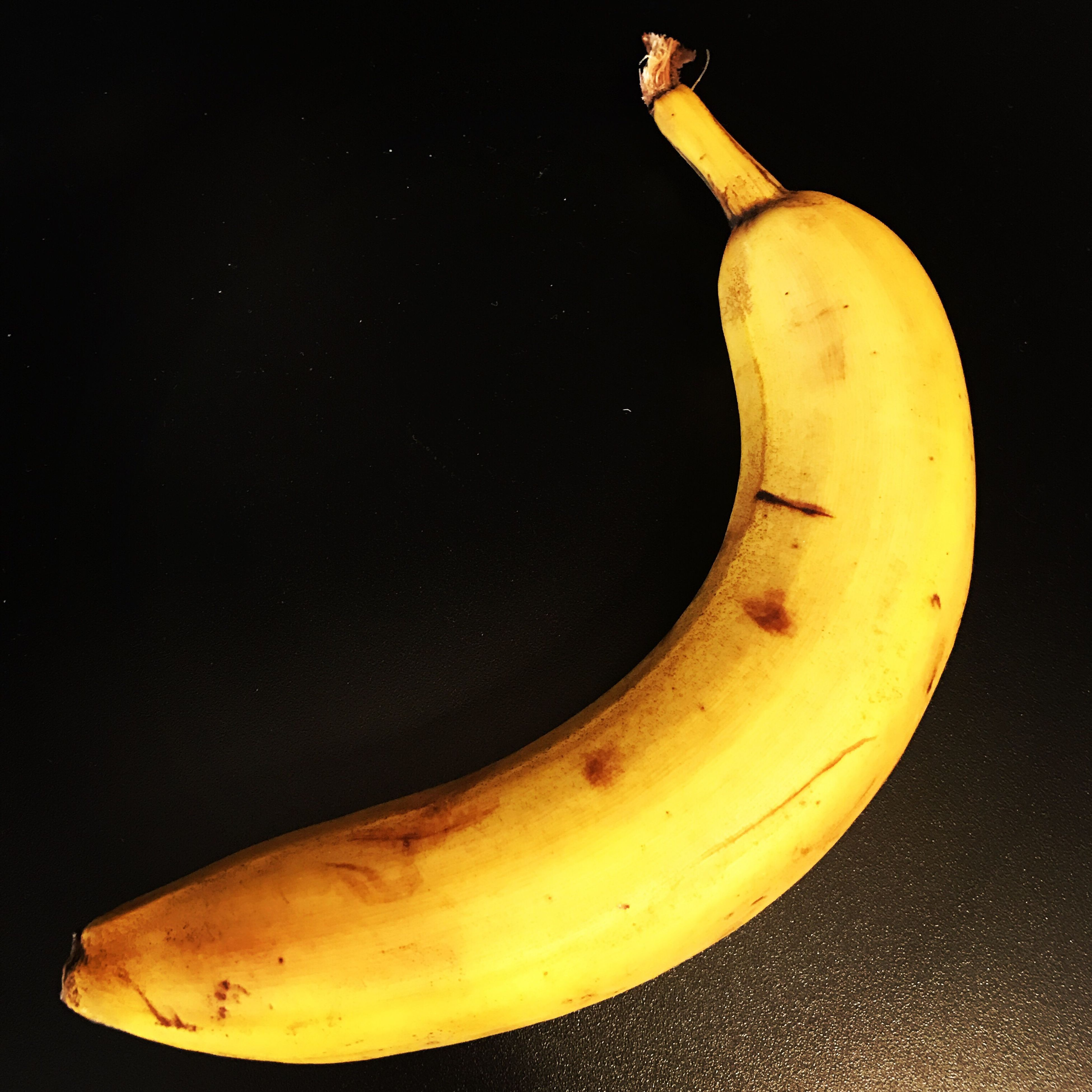 yellow, banana, studio shot, food and drink, no people, black background, fruit, healthy eating, close-up, food, indoors, freshness, day