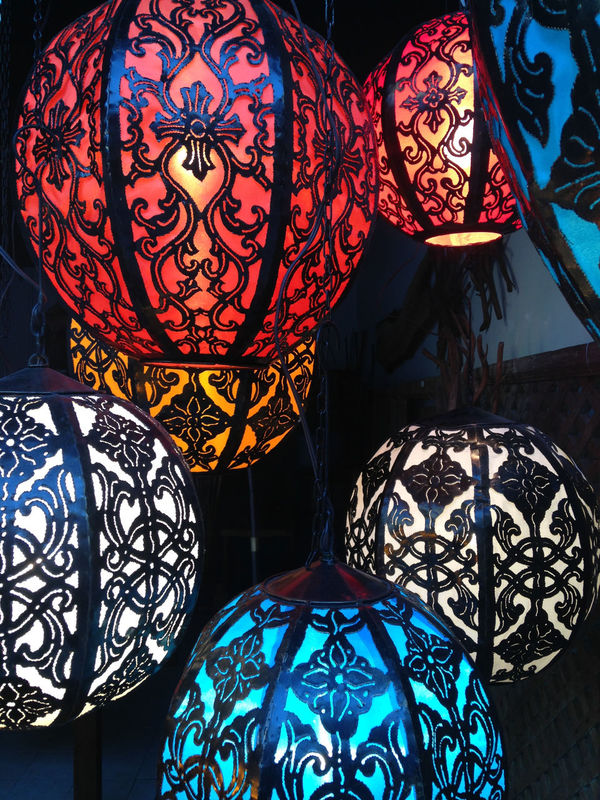 City Of Brotherly Love Philadelphia Close-up Colorful Design Globe Hanging Indoors  Lamp Lamps Multi Colored No People Pattern Patterns Repeating Patterns Repitition Storefront Storefront Display