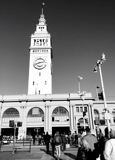 """1915"" A flood of humanity flows toward the Ferry Building on the Embarcadero in San Francisco, California. Ferrybuilding Architecture_collection Architecture Architecturelovers Urban Geometry Blackandwhite Photography Blackandwhite Urbanexploration San Francisco Cityscapes Urbanphotography Street Photography Streetphotography Oldarchitecture Old Buildings Historical Place Historical Building"