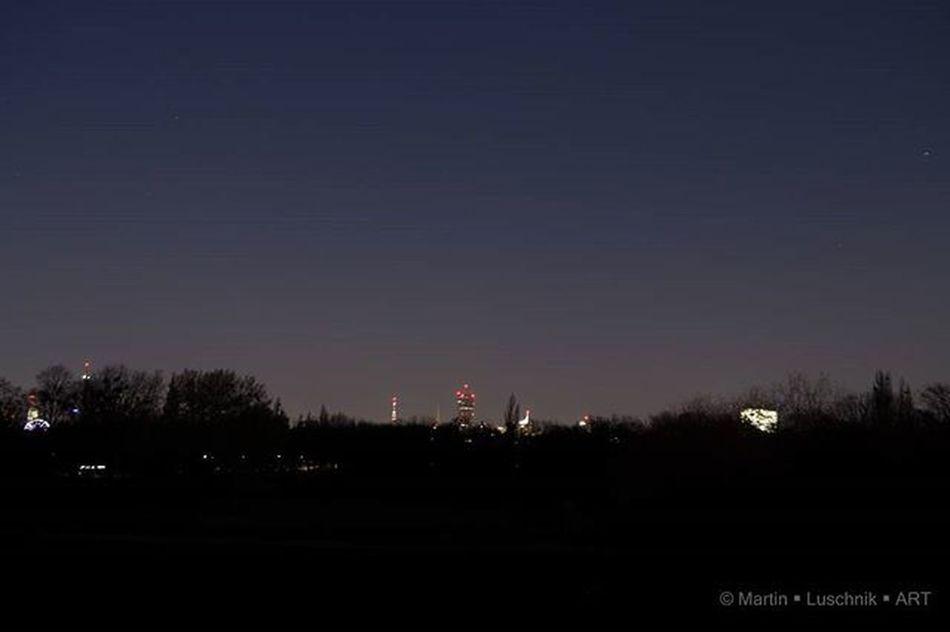 *Vienna at night Viennaatnight Skyscraper Dctower Prater