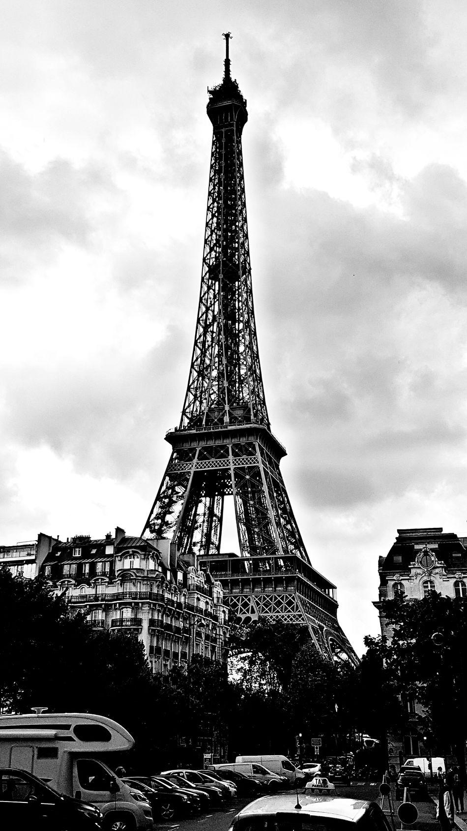 Tour Eiffel Black And White First Eyeem Photo