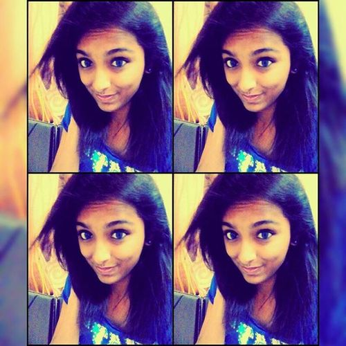 Life is a lot better if you just smile, even in the worst times...!! :) Selfie Nomoreglasses Bold Happy Selfobsession Lens MyFavouriteColor Blue Lovinit <3