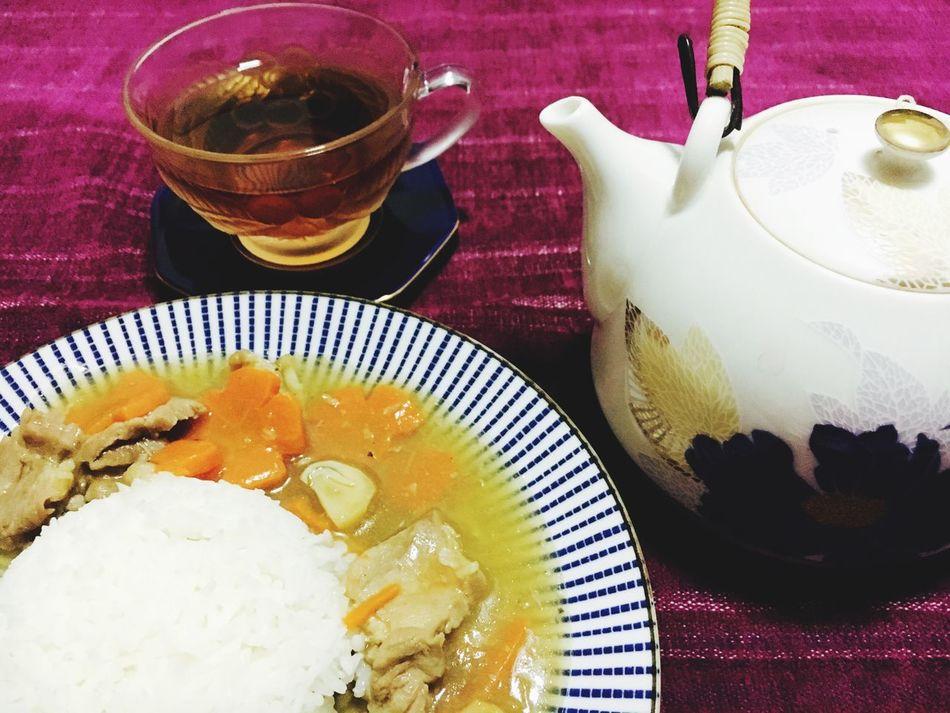 Thai Foods Tea Teapot Vintage Art Of Food