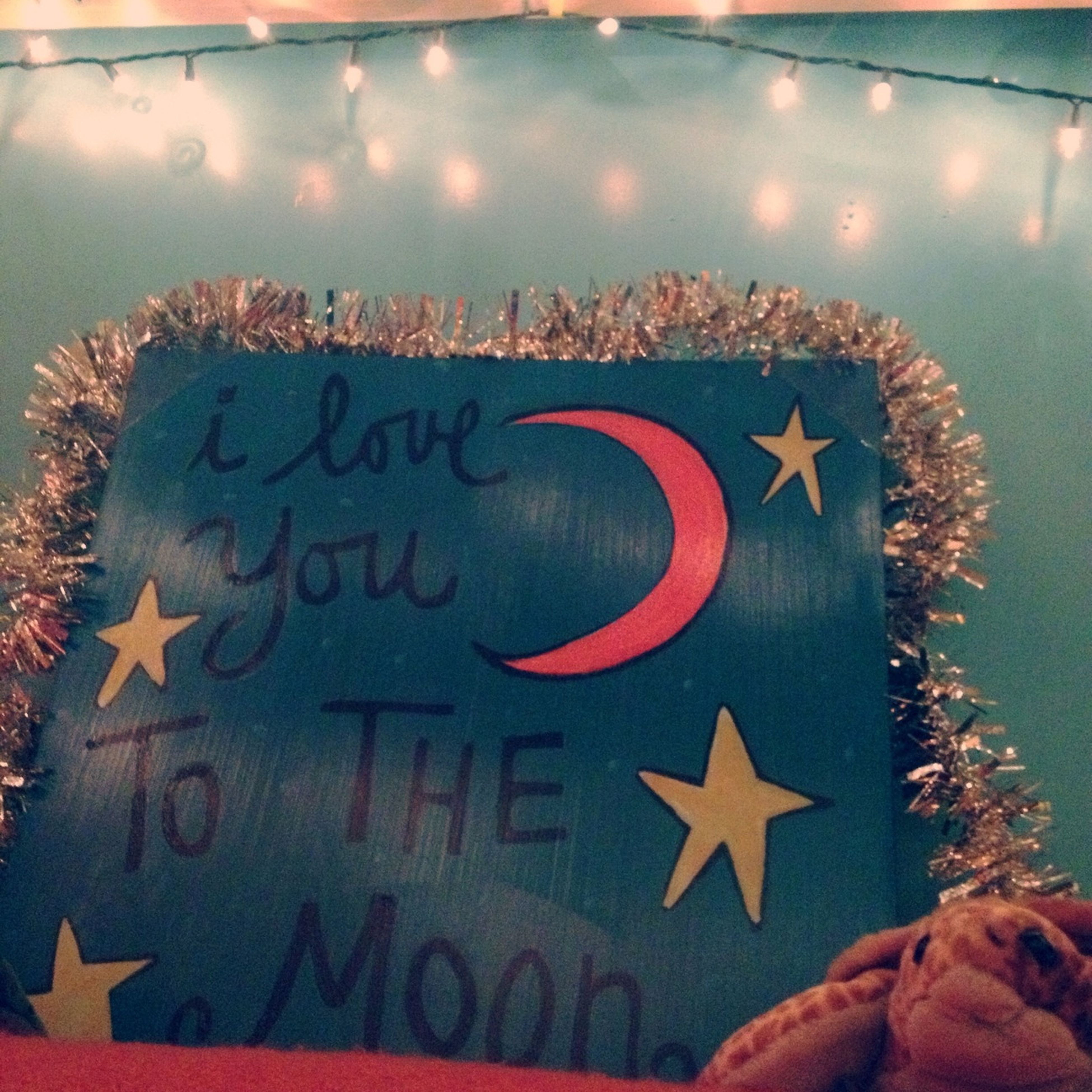 """⭐""""I love you to the moon"""""""