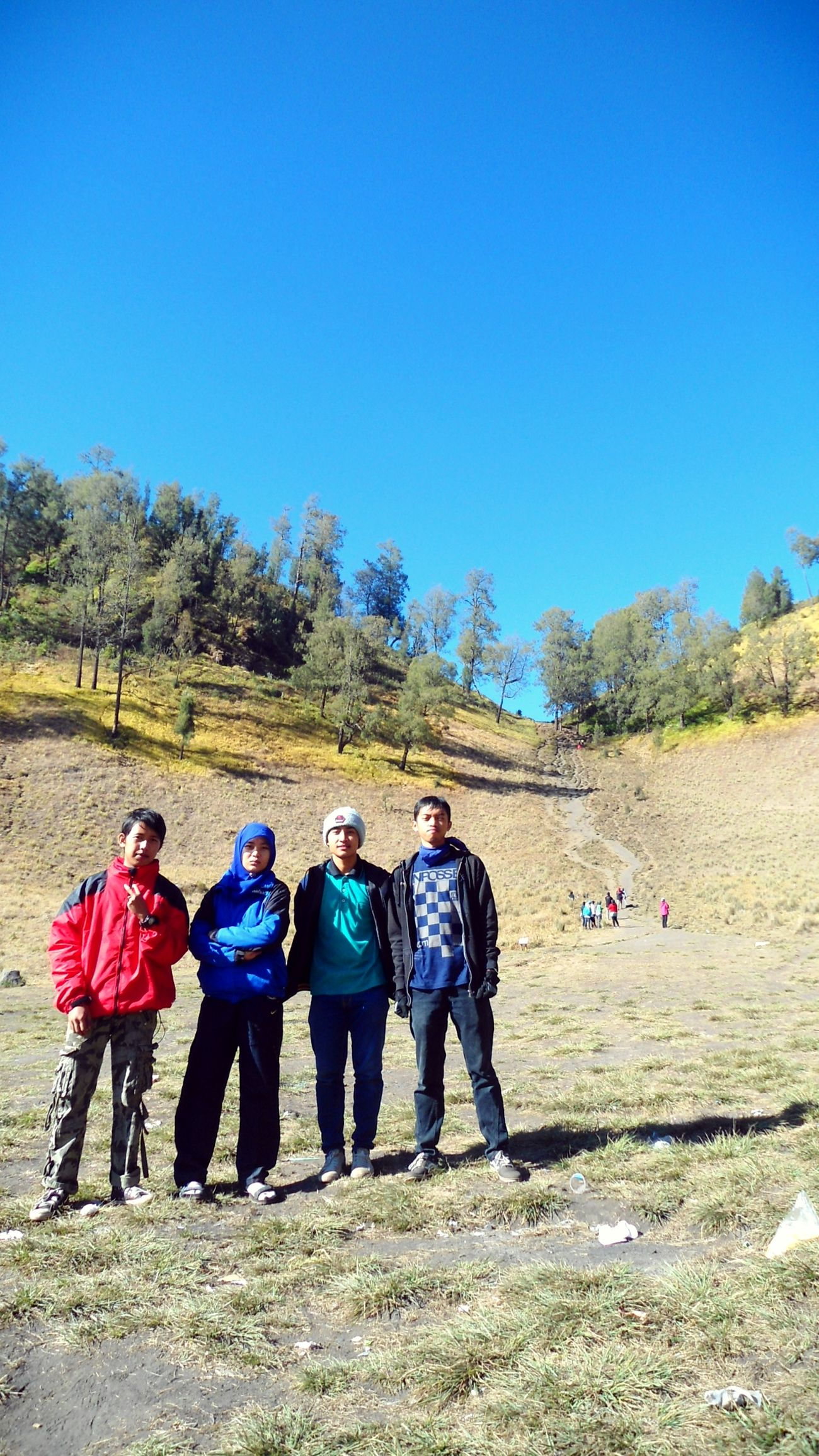 Autumn Colors tanjakan Cinta Mount Semeru