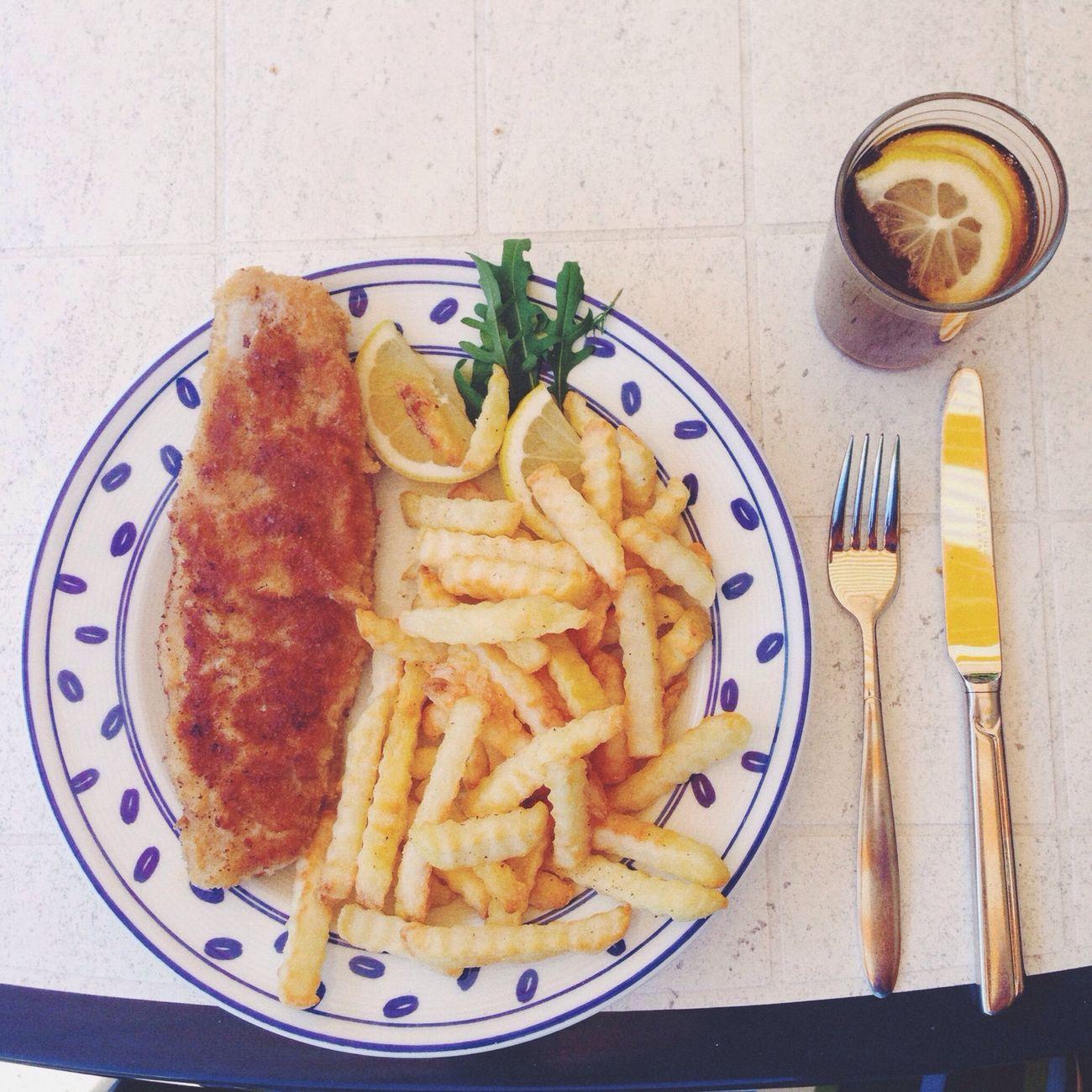 Yummy Schnitzel German Food