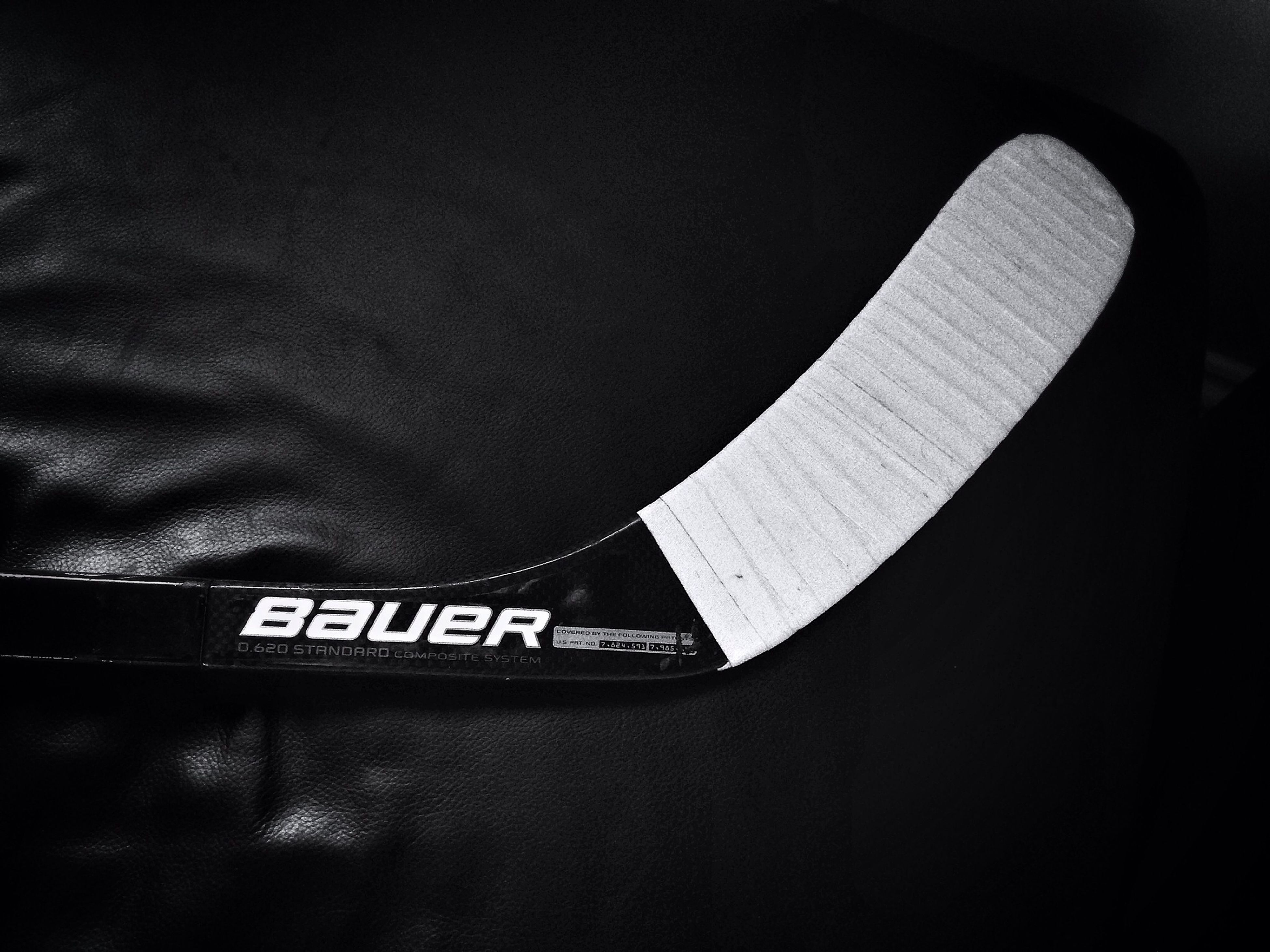 Freshly taped. Icehockey Bauer Contactsport