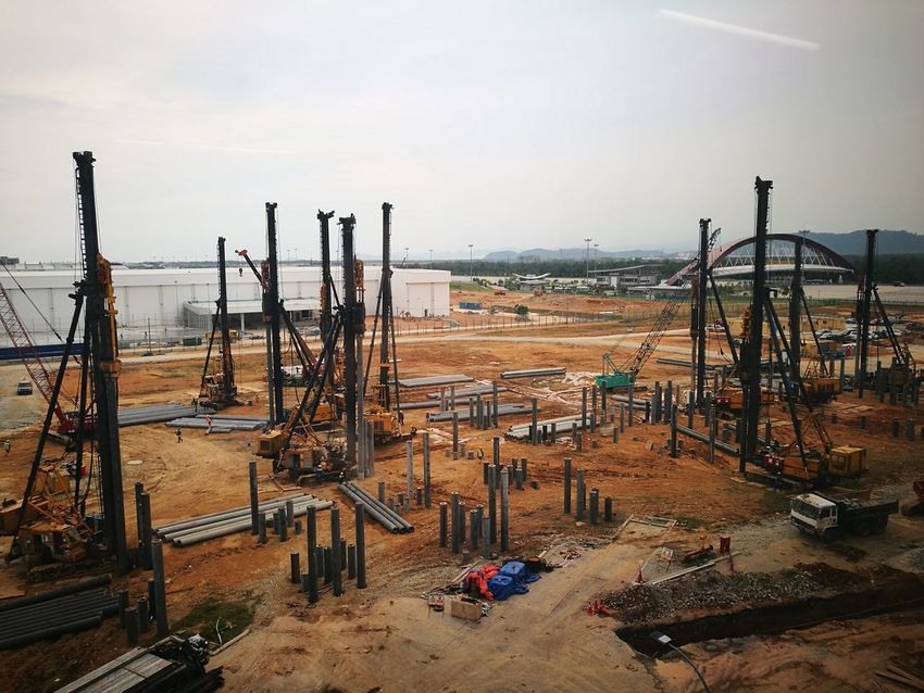 Industry Business Finance And Industry Construction Machinery Manufacturing Equipment No People Day Working Factory Metal Industry Sky Outdoors Foundry Shipyard Oil Pump