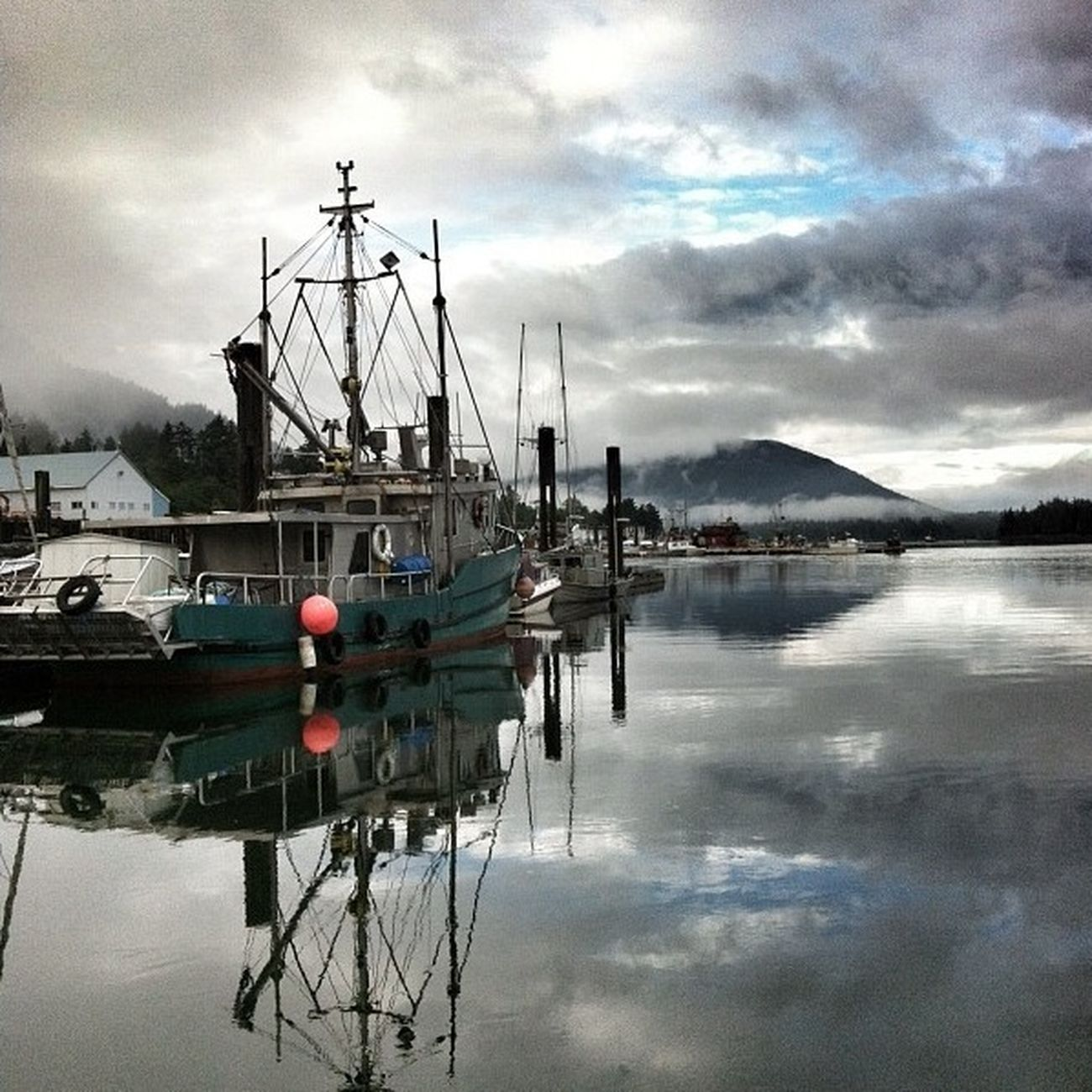 { Boats of Prince Rupert }