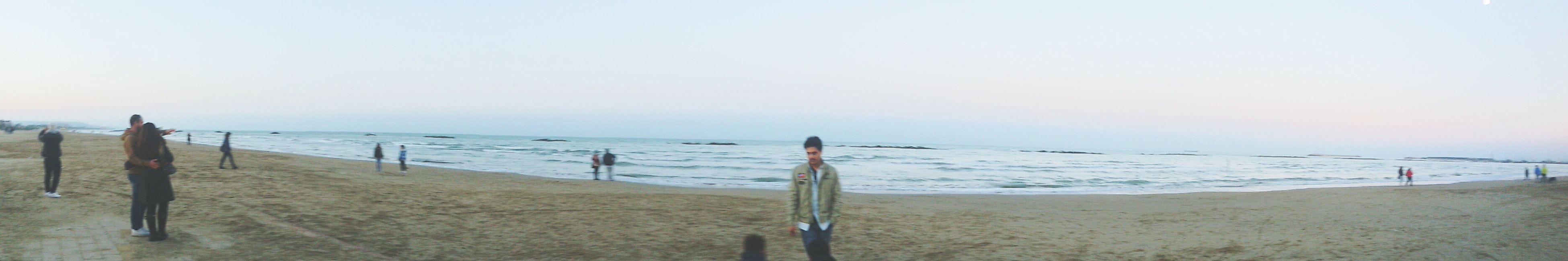Anche il mare é solo....... Mare Beach First Eyeem Photo