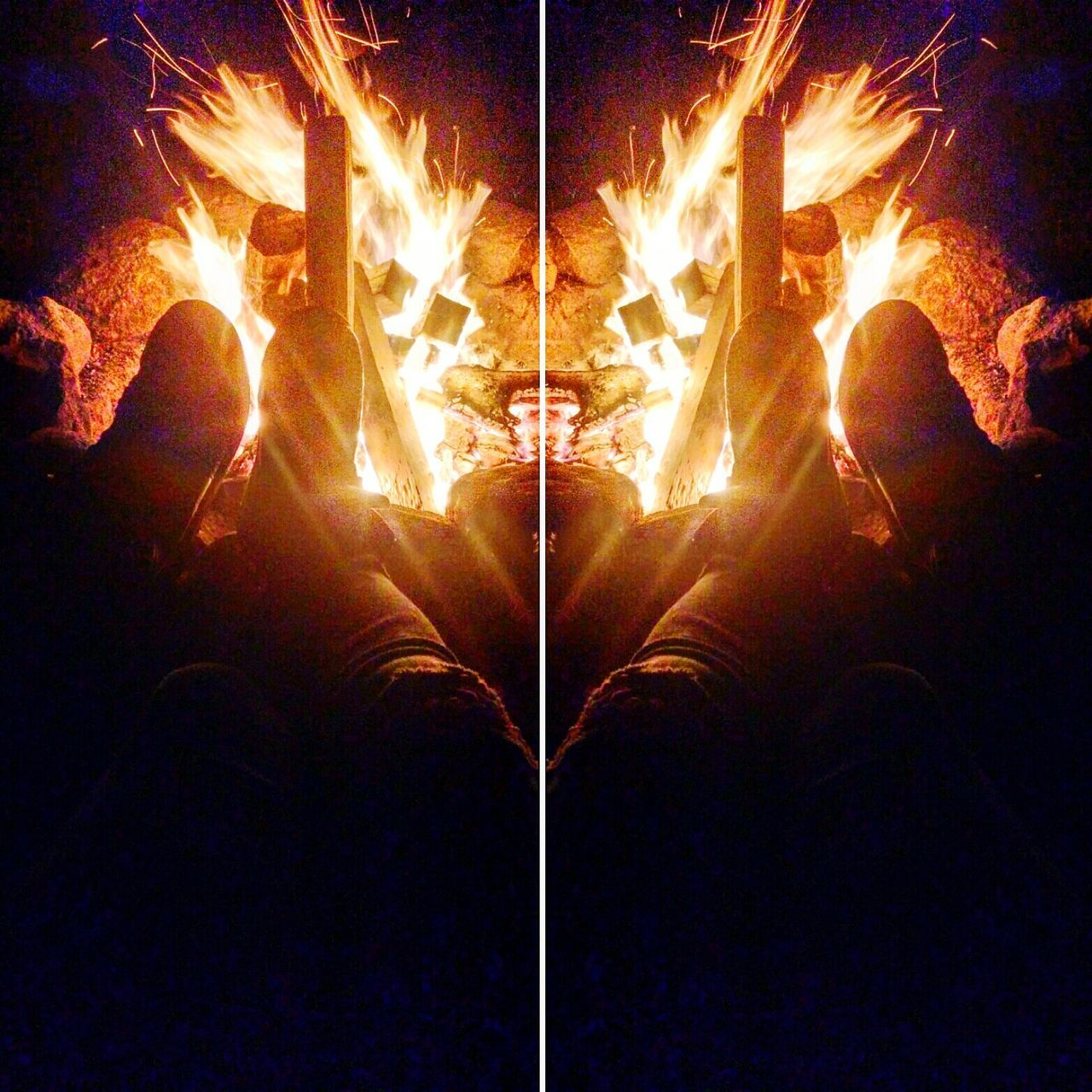Love is a firey ring. 🔥💞 Love Fire Bonfire 😚 Canyouseeit Check This Out Relaxing Enjoying Life Kickback Campfire Art Campfire Camping Out Photooftheday Enjoyingtheweather Ring Loop Edit Melissaashbyinwonderland