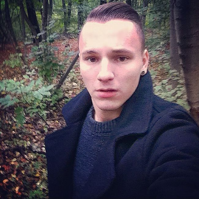 Walking in the nature. Autumn That's Me Boy Hello World