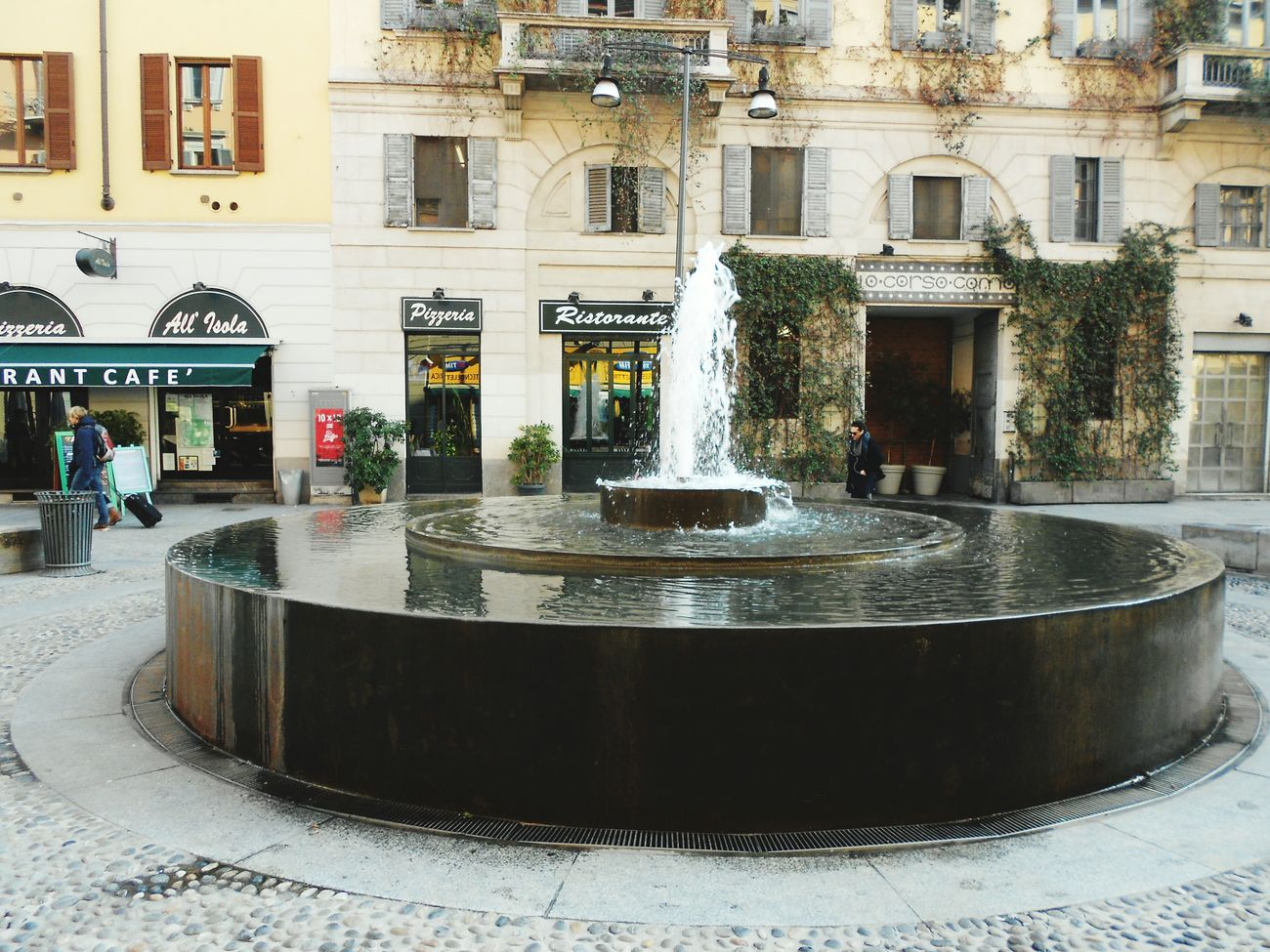 Italy Milan Water Fountain Architecture Travelling Europe City Street City Break