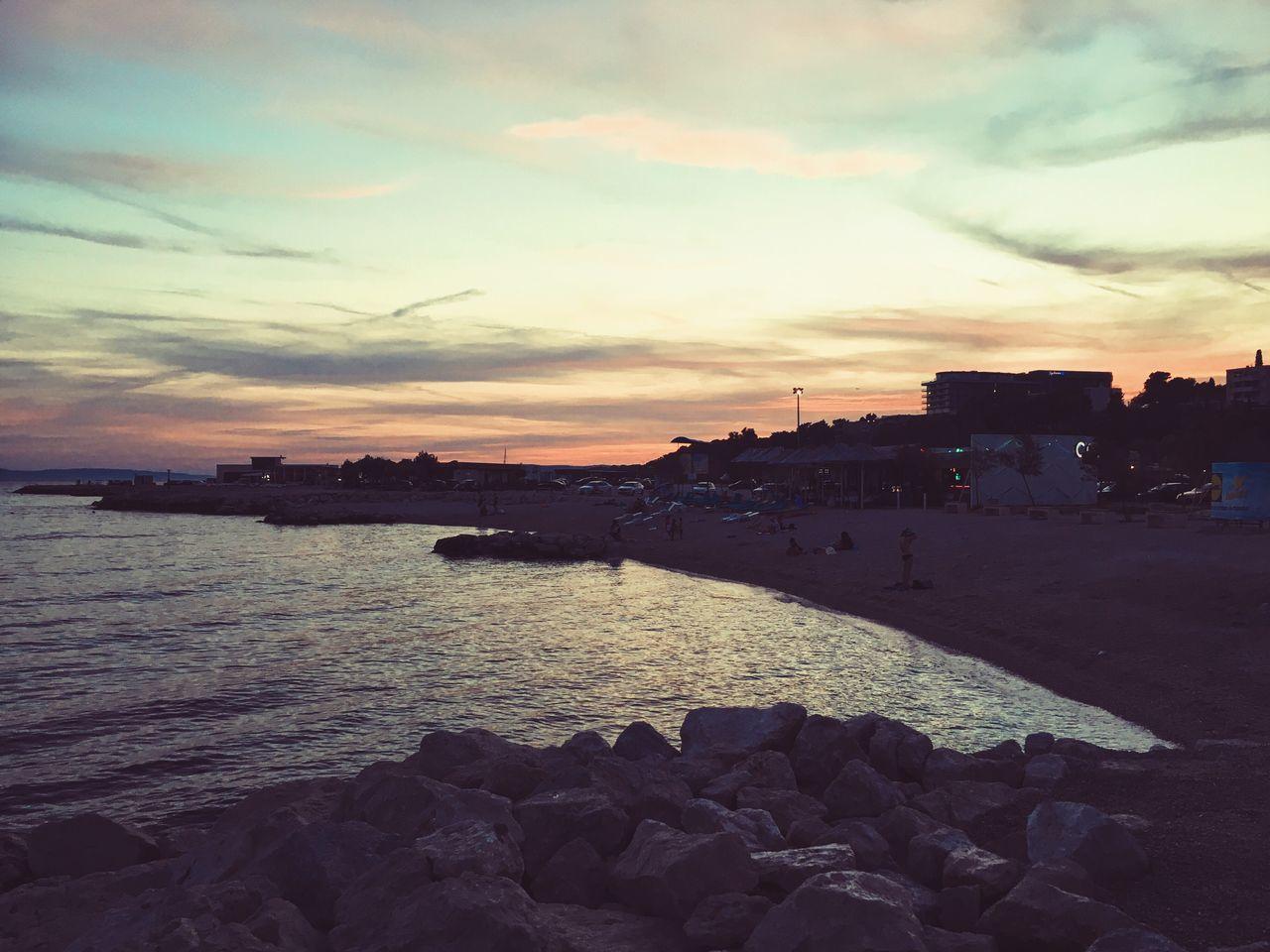 Sunset Beach Water