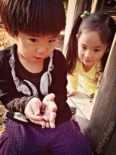 公園 Children Twins 双子