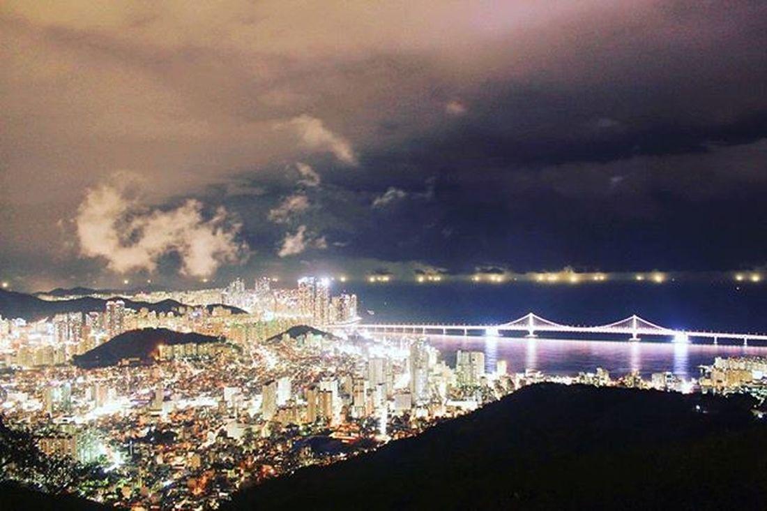 🌜 밤봄 부산 야경 광안대교 황령산 여행 빈카메라 커플 Pusan Busan Night Gwanganbridge Travel Journey Trip Couple Bincamera