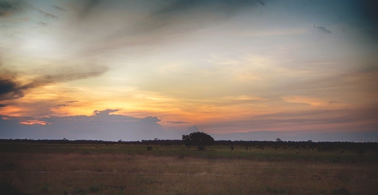 Beauty In Nature Landscape Multi Colored Nature No People No Urban Scene Outdoors Rural Scene Senic Sky Sunset Tranquil Scene Tranquility