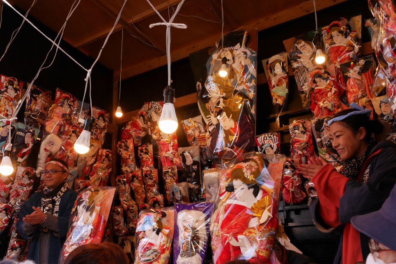 Battledore fair/羽子板市 Battledore Fair 羽子板市 Traditional Hanging Out Winter Enjoying Life LUMIX DMC-GX7 I Heart Tokyo My Winter Favorites