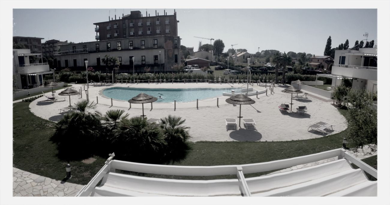 Swimming Pool Jesolobeach Relaxing Holiday