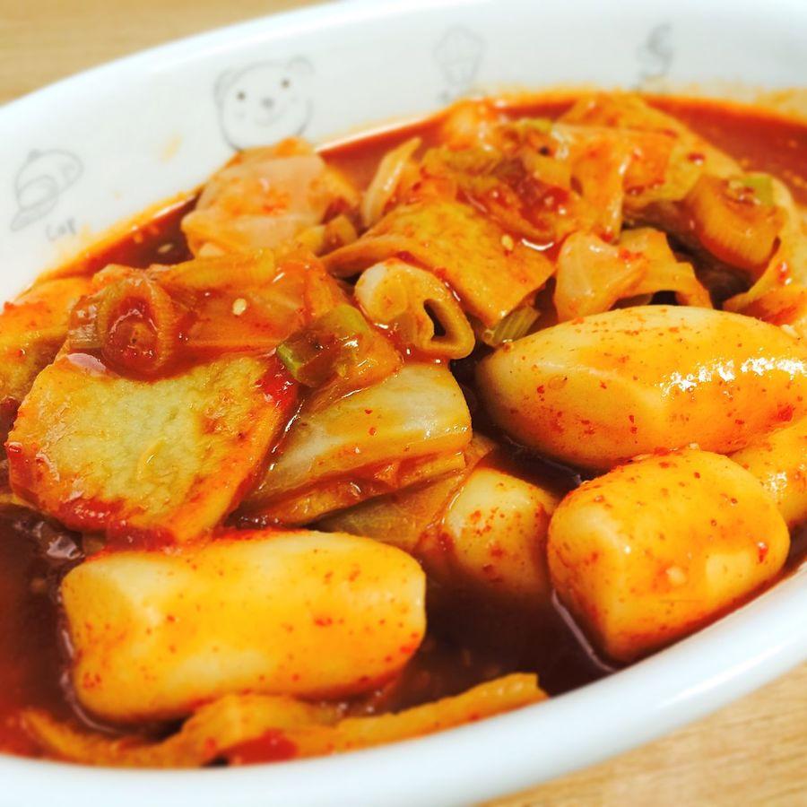 Food Cooking Ddeok-bokkii