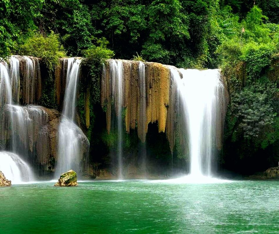 Waterfall Nature Pleasure Save The Planet Share Your Adventure Everything In Its Place Travel Photography Located At Kayin State Welcome Myanmar Kayin State, Burma. Kyonehtaw Waterfall