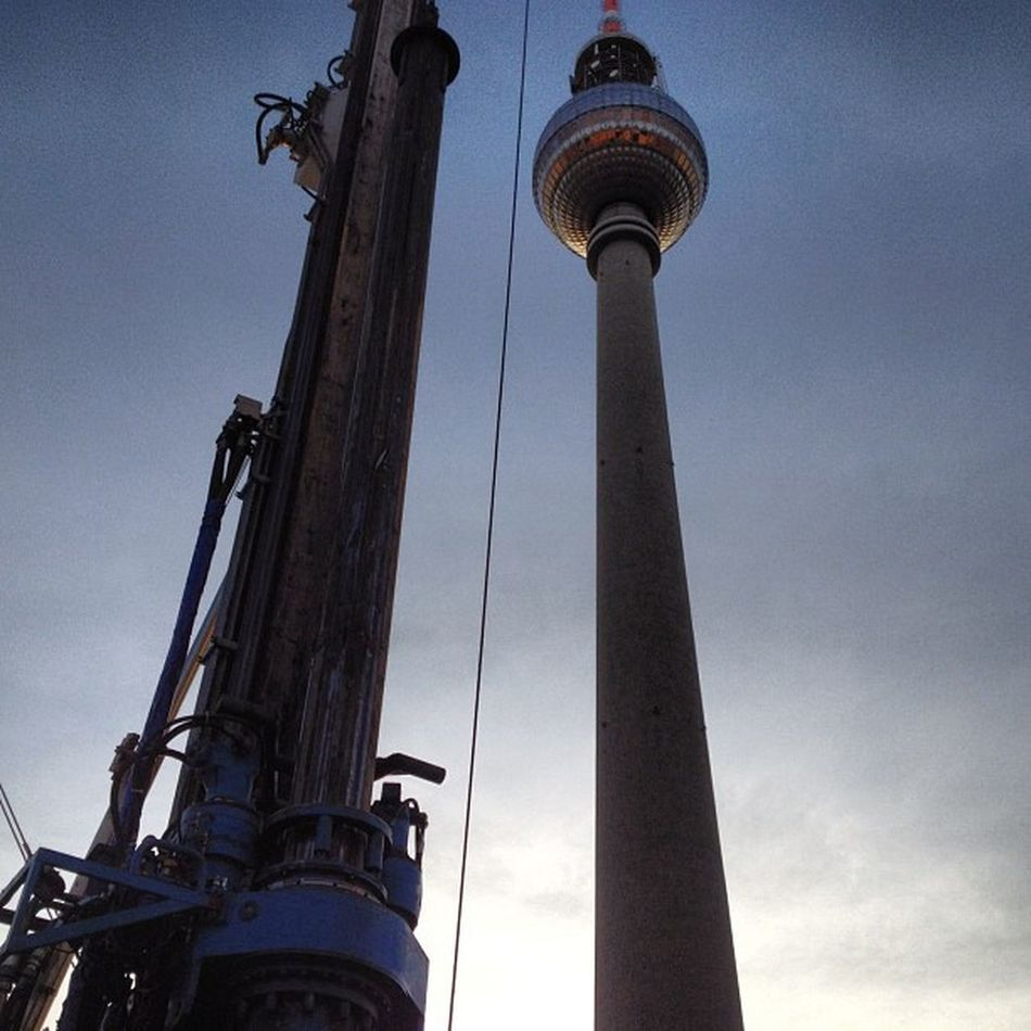 Twin Towers #Berlin Construction Zone #Alea101 #Alexanderplatz Berlin Alexanderplatz Alea101