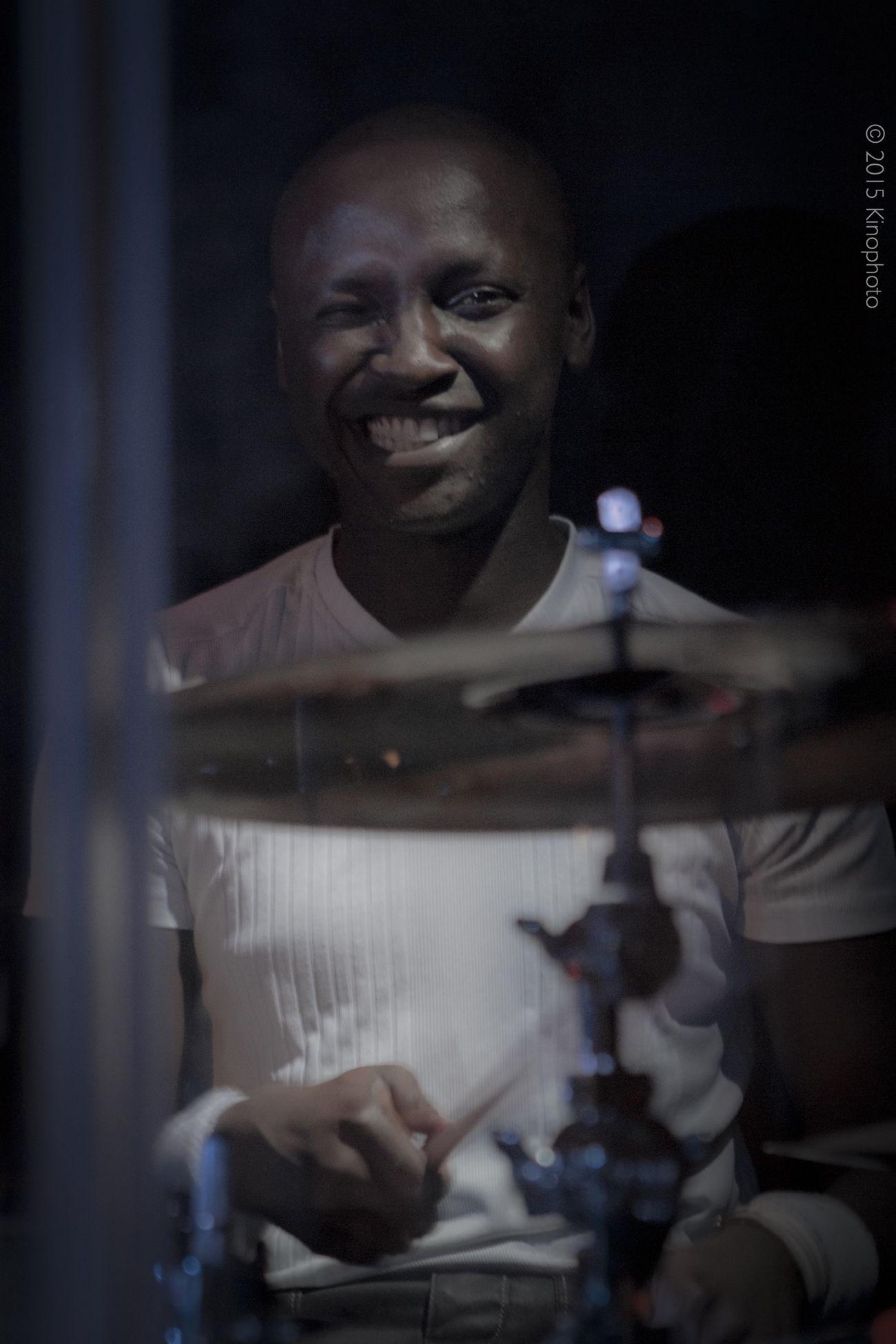 Drum & Wink ! Music Drums Portrait Live Music