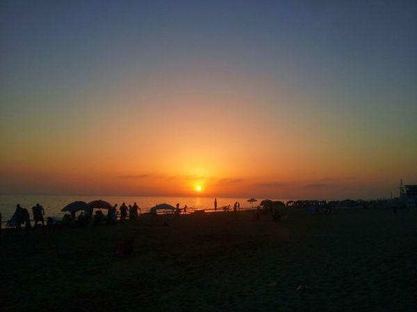 Tramonto Tramonto Silhouette Sea And Sky Sunset Silhouette