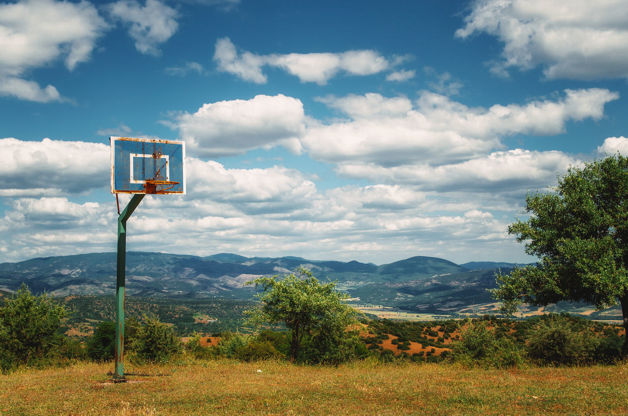 Beautiful stock photos of greece, Basketball - Sport, Basketball Hoop, Beauty In Nature, Cloud - Sky