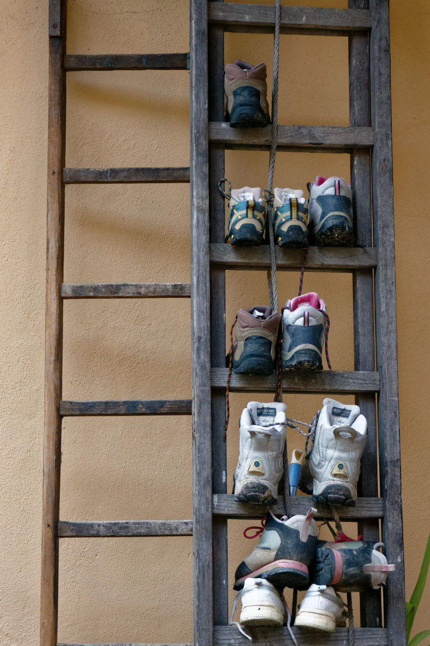 shoe, pair, safety, climbing, day, no people, helmet, outdoors, rock climbing, climbing wall, sport