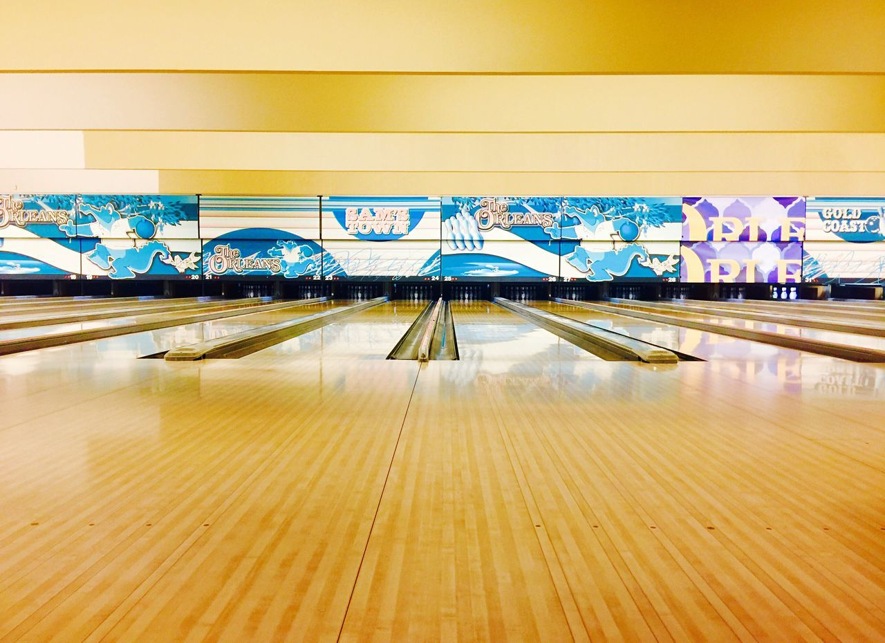 Indoors  No People Day Architecture Modern Bowling Bowling Alley