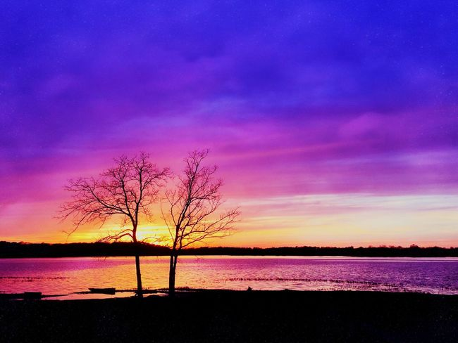 Violet By Motorola Sunset Silhouette Nature Tennessee Eye4photography  EyeEm Best Shots South EyeEm Nature Lover
