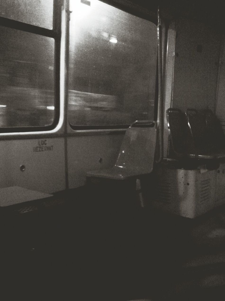 Empty Tram...