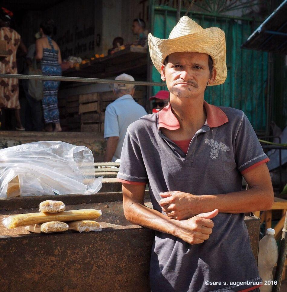 Outside the Market, Havana, Cuba Bread One Person Outdoors Portrait Cuban Man Cuban Market Cuban Life Havana Market Cuba Cuba Collection Snapseed Looking At Camera Cuba 2016 Cuban Style Olympus OM-D EM-1 Food