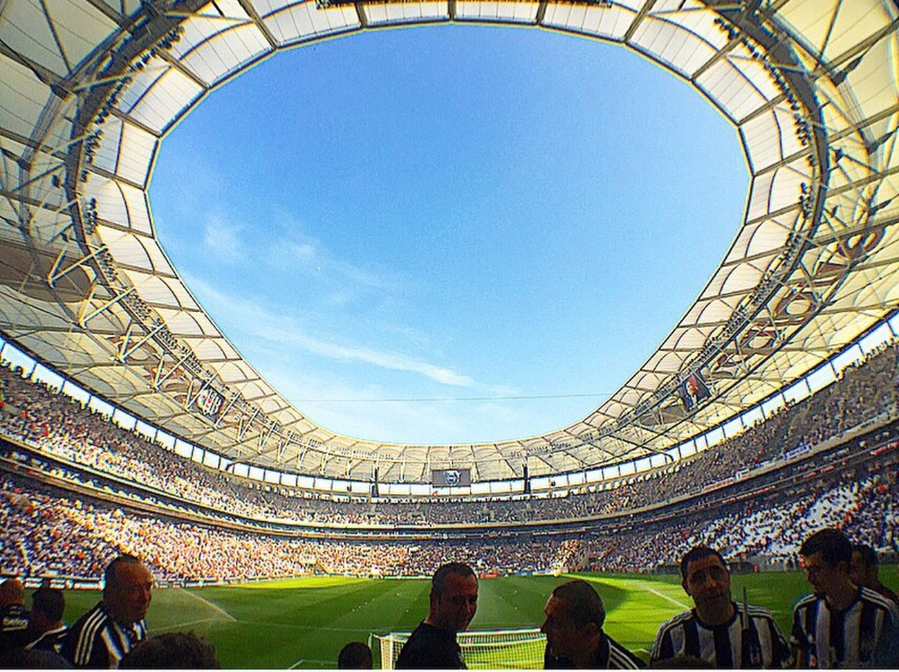 Besiktas VodafoneArena Beşiktaş ❤ Karakartal Hello World