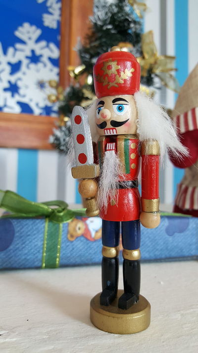 The fury Nutcracker! Holiday Christmas Christmas Decorations Nutcracker Christmas Cheer ! Long Goodbye