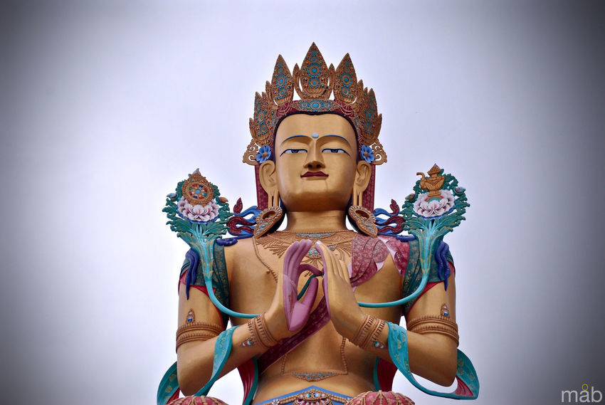 Art Buddhism Creativity Faith God Hill Culture India Ladakh Leh Mountains Peace Place Of Worship Religion Sculpture Spirituality Statue Nubra Valley Buddha Leh Ladakh.. Monastery Diskitmonastery Fine Art Photography Breathing Space The Week On EyeEm See The Light EyeEm Ready