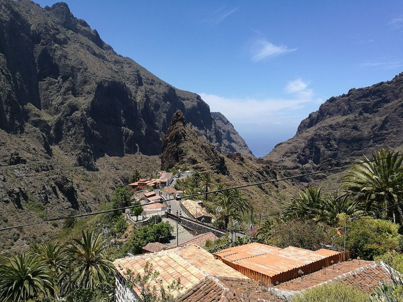 Tenerife Masca Piratevillage Mountain Landscape Nature Rough Texture Beauty In Nature Tranquility Trip